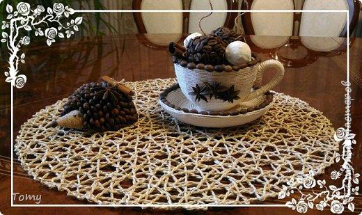 Чашка кофе с мороженым фото 1