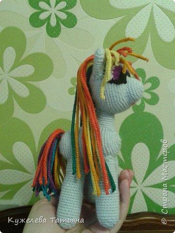 Это моя первая вязаная игрушка. Я её вязала около полугода))) МК нашли в интернете фото 1