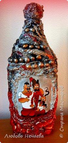 На махровом носке косточки,бусы,микробисер,распечатка фото 1