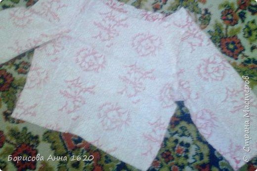 Решила сшить дочке пижаму, долго думала как и, наконец, придумала. Хочу поделиться результатом. фото 12