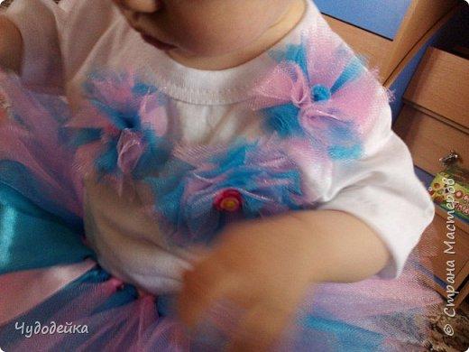 Вот такой наряд я сделала дочке на первый день рождения. фото 4