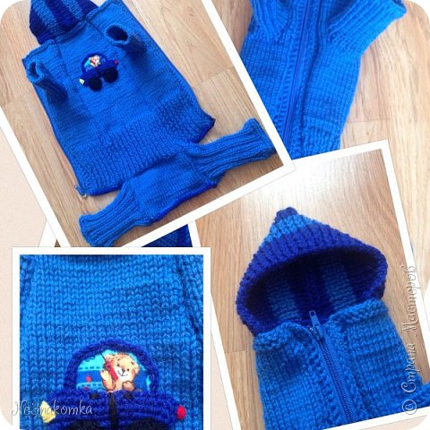 Всем привет! Хочу поделиться своим новым увлечением , а именно: вязание нарядов для животных.  фото 8