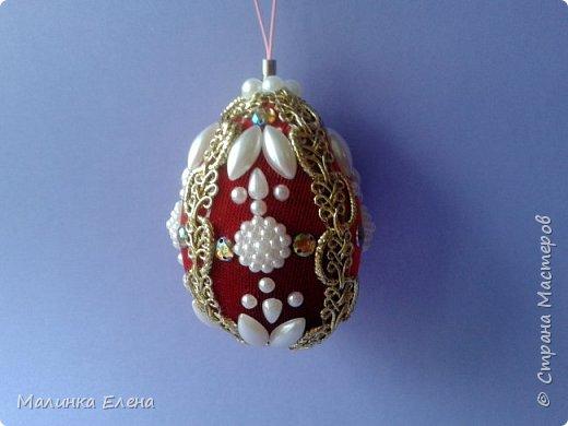 Пасхальные яйца на подвеске фото 1