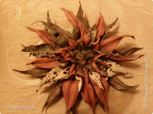 Цветы- брошки фото 4