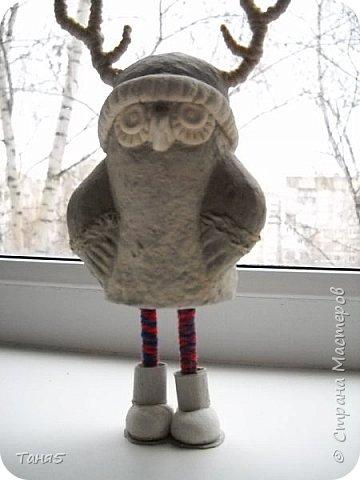 Приветствую всех, заглянувших на огонёк!!!! Давненько я не появлялась, но сегодня хочу  внести капельку позитива своими совятами-дурачками!!! Никак не дождёмся тёплых весенних денёчков - то снег, то дождь, то ветродуи - вот и кутаемся до сих пор в шапочки, шарфики и сапожки))))) Вот такая КУЛЁМА получилась по мотивам  работ Инги Пельцер. Брррр... холодно.... не смотря на  то, что за окном уже апрель!!!! фото 4
