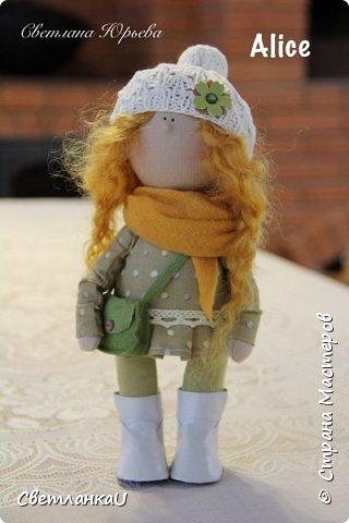 Интерьерная кукла, рост 26 см, март 2016г фото 10