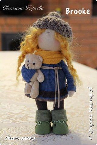 Интерьерная кукла, рост 26 см, март 2016г фото 11