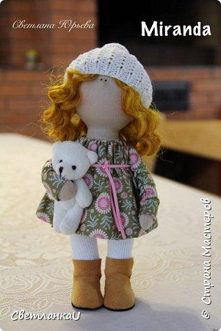 Интерьерная кукла, рост 26 см, март 2016г фото 8