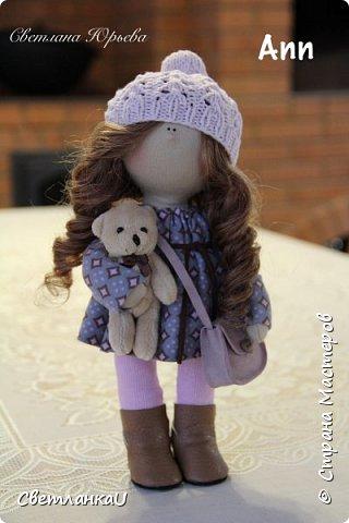 Интерьерная кукла, рост 26 см, март 2016г фото 9