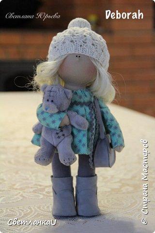 Интерьерная кукла, рост 26 см, март 2016г фото 12