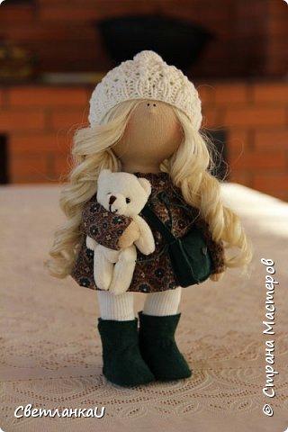 Интерьерная кукла, рост 26 см, март 2016г фото 17