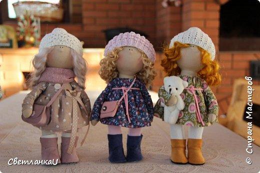 Интерьерная кукла, рост 26 см, март 2016г фото 5