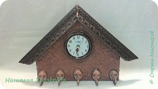 Ключница-часы фото 1