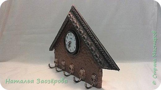 Ключница-часы фото 3