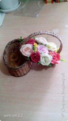 конфетница, одуванчики-фом. фото 3