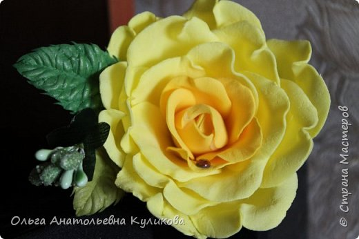 ободок с розами из зефирного фома фото 5