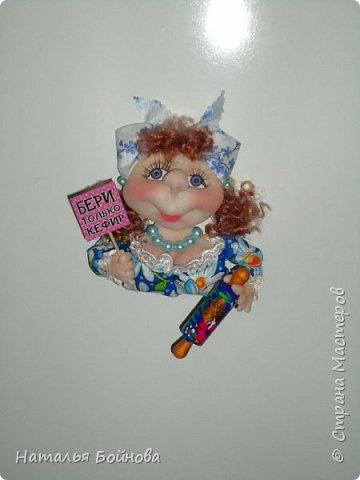 Кукла - магнит на холодильник фото 3