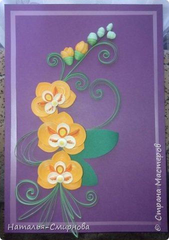Добрый день! Теперь и я с орхидеями ))) За образец брала работу Сусанны Григорян http://stranamasterov.ru/node/942565 Спасибо ей большое, очень красивые орхидеи! фото 1