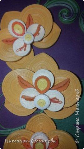 Добрый день! Теперь и я с орхидеями ))) За образец брала работу Сусанны Григорян http://stranamasterov.ru/node/942565 Спасибо ей большое, очень красивые орхидеи! фото 2