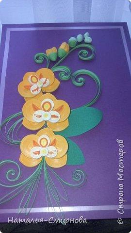 Добрый день! Теперь и я с орхидеями ))) За образец брала работу Сусанны Григорян http://stranamasterov.ru/node/942565 Спасибо ей большое, очень красивые орхидеи! фото 3