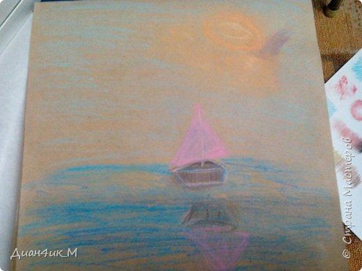Рисунки пастелью  фото 9