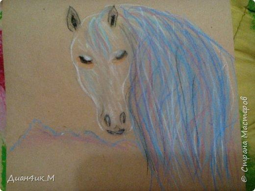 Рисунки пастелью  фото 3