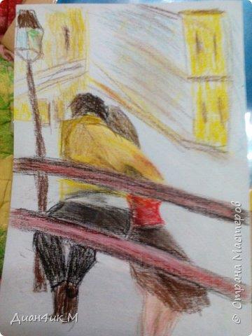 Рисунки пастелью  фото 2