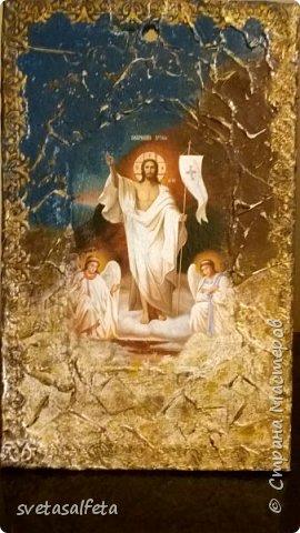 Панно - имитация фрески Воскрешение Христа фото 1