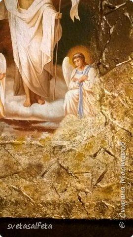 Панно - имитация фрески Воскрешение Христа фото 3