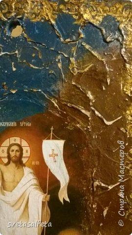 Панно - имитация фрески Воскрешение Христа фото 2