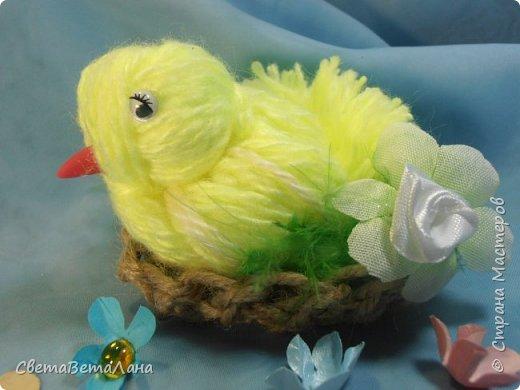 Родились к пасхе такие цыпы.........  ... птахи созданы по МК Оли ( BOLGA1110) http://stranamasterov.ru/node/827597..............   фото 2