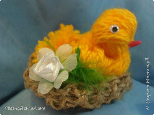 Родились к пасхе такие цыпы.........  ... птахи созданы по МК Оли ( BOLGA1110) http://stranamasterov.ru/node/827597..............   фото 3