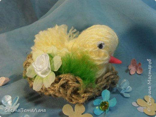 Родились к пасхе такие цыпы.........  ... птахи созданы по МК Оли ( BOLGA1110) http://stranamasterov.ru/node/827597..............   фото 4