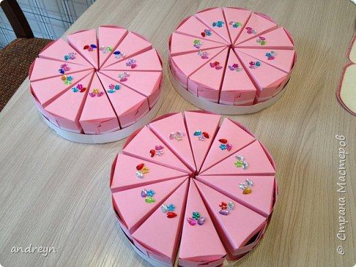 Здравствуйте. Сделали всей семьей старшей дочке на День рождения в школу такой торт в три этажа. фото 2
