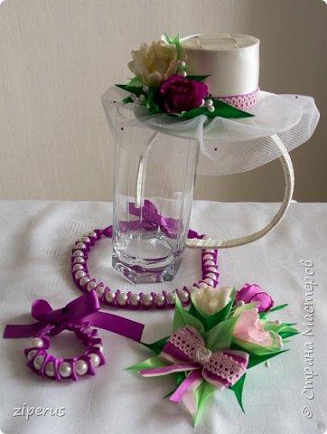 Эти украшения-для дочки в садик к празднику 8 марта фото 1