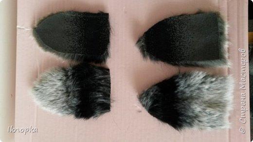 Для костюма кошки симпатичные ушки)) фото 5