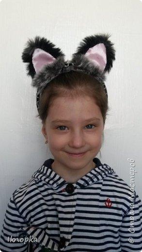 Для костюма кошки симпатичные ушки)) фото 1