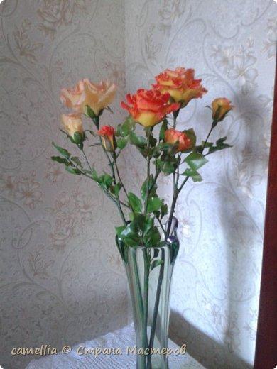И снова розы.