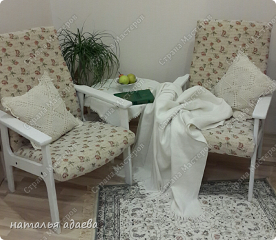 Кресла с новой обивкой сделали комнату уютной. фото 1