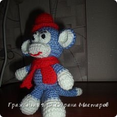 На Новый год были связаны такие вот обезьянки))  фото 6