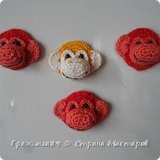 На Новый год были связаны такие вот обезьянки))  фото 7