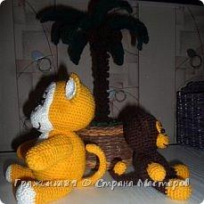 На Новый год были связаны такие вот обезьянки))  фото 3