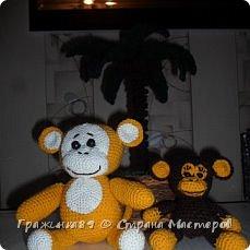 На Новый год были связаны такие вот обезьянки))  фото 2