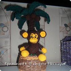 На Новый год были связаны такие вот обезьянки))  фото 4