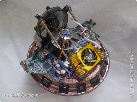Здравствуйте, мастера и мастерицы!   Теперь и у нас есть своя космическая станция. Выставляем на Ваш суд :) фото 1