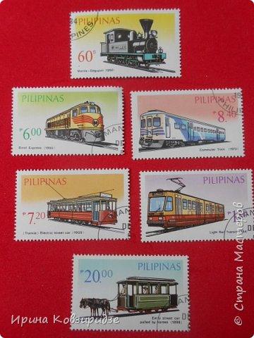 """Сегодня я предлагаю вашему внимани. серию """"Железная дорога"""". Это кубинские марки. фото 13"""
