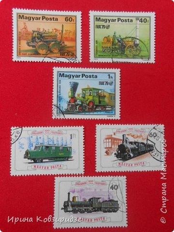 """Сегодня я предлагаю вашему внимани. серию """"Железная дорога"""". Это кубинские марки. фото 14"""
