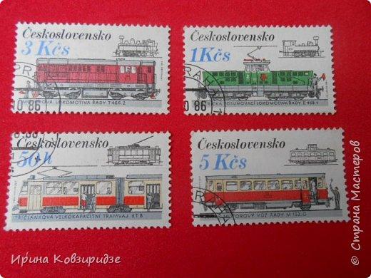 """Сегодня я предлагаю вашему внимани. серию """"Железная дорога"""". Это кубинские марки. фото 16"""