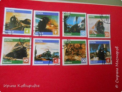 """Сегодня я предлагаю вашему внимани. серию """"Железная дорога"""". Это кубинские марки. фото 17"""