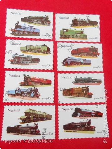 """Сегодня я предлагаю вашему внимани. серию """"Железная дорога"""". Это кубинские марки. фото 21"""